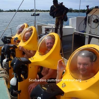 get ready for scubadoo dive